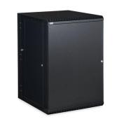 Linier 3131-3-001-18 18U Swing-Out Wall Mount Cabinet - Solid Door