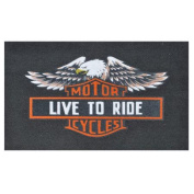 Home & More Live to Ride Mat