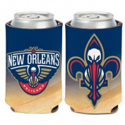New Orleans Pelicans Official NBA 10cm tall Insulated Coozie Can Cooler Wincraft