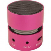 Urban Factory 3W Mini Speaker with Bluetooth, Pink