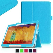 Fintie for for for for for for for for for for Samsung Galaxy Note 10.1 2014 Edition Folio Case - Slim Fit Book Style Leather Stand Cover, Blue