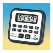 TRACEABLE 7010 Timer/Stopwatch,Digital,1cm . LCD