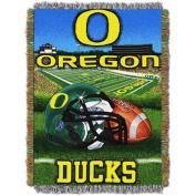NCAA 120cm x 150cm Tapestry Throw Home Field Advantage Series- Oregon
