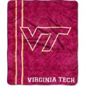 NCAA 130cm x 150cm Sherpa Throw, Virgina Tech