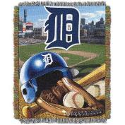 MLB 120cm x 150cm Home Field Advantage Series Tapestry Throw, Tigers