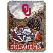 NCAA 120cm x 150cm Tapestry Throw Home Field Advantage Series- Oklahoma