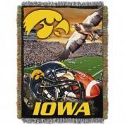 NCAA 120cm x 150cm Tapestry Throw Home Field Advantage Series- Iowa