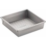 Cake Boss Professional Nonstick Bakeware 20cm Square Cake Pan, Silver
