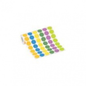 Shoplet select Fluorescent Yellow Inventory Circle Labels SHPDL611L