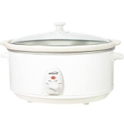 Brentwood 6.2l Slow Cooker White Body