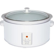 Brentwood 7.6l Slow Cooker White Body