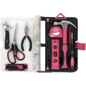 Apollo Tools 126-Piece Kitchen Drawer Tool Kit, Pink
