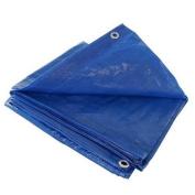 Blue 6x6 Heavy Duty UV Protected Treated Canopy Sun Shade Boat Cover Tarp
