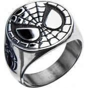 Marvel Spiderman steel ring size 10