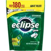 Eclipse Spearmint Sugarfree Gum Refill, 180 pieces, 260ml