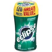 Eclipse Spearmint Sugarfree Gum, 120 pieces, 210ml