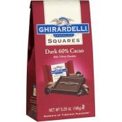 Ghirardelli Chocolate Squares 60% Cacao Dark Chocolate, 160ml