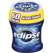 Eclipse Winterfrost Sugarfree Gum, 60 pc, 90ml