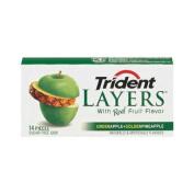 Green Apple & Golden Pineapple Gum Singles 14 Piece