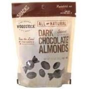 Woodstock BG19716 Woodstock Dark Chocolate Almonds - 8x8. 150ml