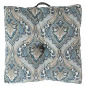 Surya 60cm x 60cm . Polyester Decorative Floor Cushion Pillow