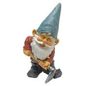 Bulldoze, the Garden Gnome Statue