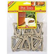 Plantstand PT-12LGHT Light Grey Pot Toes 12 Pack