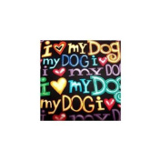 Plant Pattern Covers I Love My Dog Plant Pattern Cover, Small