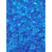 Exotic Pebbles & Aggregates Turquoise Glass Pebbles, 0.9kg
