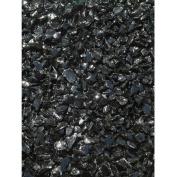Exotic Pebbles & Aggregates Black Glass Pebbles, 0.9kg