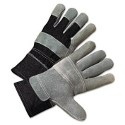 Anchor Brand ANR2020 Gloves Maintenance Supplies Leather ;Pearl Grey / Blue Denim