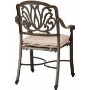 Home Styles Floral Blossom Taupe Dining Set, 7pc