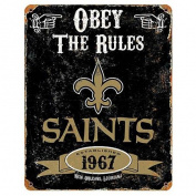 Party Animal NFL New Orleans Saints Vintage Sign