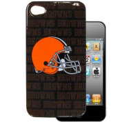 Siskiyou F4GR025 Cleveland Browns Graphics Snap on Case fits iPhone 4/4S