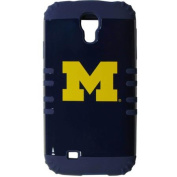 Siskiyou C4S36RKB Michigan Wolverines for Samsung Galaxy S4 Rocker Case