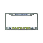 Pittsburgh Panthers NCAA Chrome Licence Plate Frame