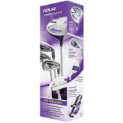 Merchants of Golf Tour X Purple Size 3 Ages 12+ 5pc Jr Set with Stand Bag