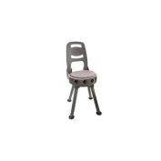 Quake The Stag Swivel Hunting Stool w/Back Rest