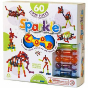 ZOOB Sparkle 60 Piece Building Set