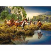 Wild Horses Puzzle, 1,500 Pieces