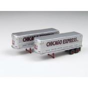 N 9.8m Aerovan Trailer, Chicago Express