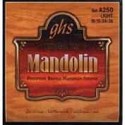 GHS Phosphor Bronze Mandolin Strings Light