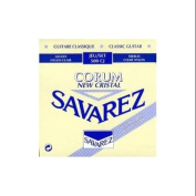 Savarez 500CJ Corum Cristal Classical Guitar Strings, High Tension, Blue Card