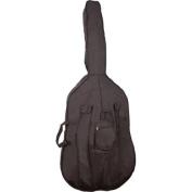 Bellafina Harvard Padded Bass Bag Black 1/2 Size
