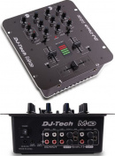 Dj Tech M10USB 2-channel Rack-mountable All Purpose Mixer W/usb & Deckadance Le Dj Software