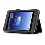 Black Double-Fold Folio Case for ASUS MeMO Pad HD 7