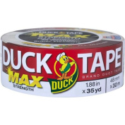 Duck Brand Duct Tape, Max Strength, 4.8cm x 35 yds, White