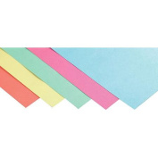 School Smart Light-Weight Tagboard Assortment, 45kg, 23cm x 30cm , Assorted Pastel Colour, Pack of 100