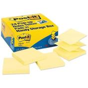 Post-it Notes, Value Pack,100 Sht/PD, 7.6cm x 7.6cm , 24/PK, Yellow MMMR33024VAD