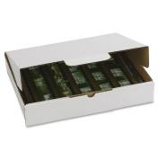 200lb Corrugated Self-Locking Mailing Box, 9w x 13l x 4h, White